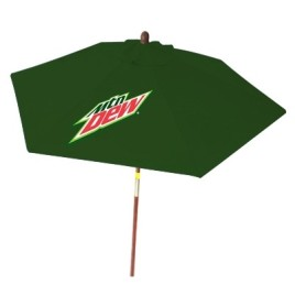 patio umbrella with branding