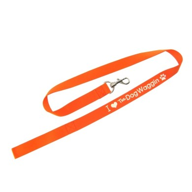 dog leash with logo