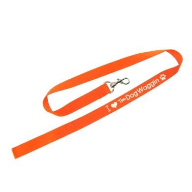 dog leash with logo