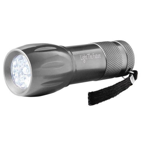L100 flashlight with logo custom printed